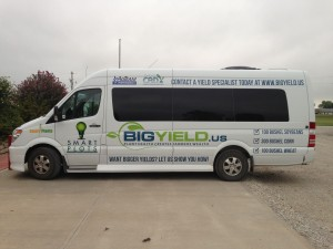 Big Yield Bus with Graphics