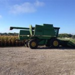 Corn Harvest at the Farm Research Center