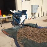 Soybean Threshing Results at the Bay Research Farm