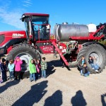Kids with Mallory Ag Sprayer