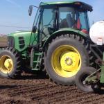 Bob Hartzler Planting Wheat