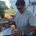 John Ortiz Figuring Wheat Yield Data