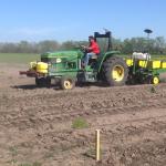 John Ortiz Planting Corn