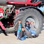 Kids with Mallory's Sprayer 2