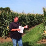 High Yield Corn Plot at The Farm Research Center