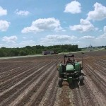 Drone Footage of Soybean Planting