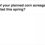 Tell Us About Your Corn Planting Progress