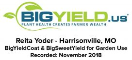 BigYield Products Enhance Fruit and Vegetable Crops