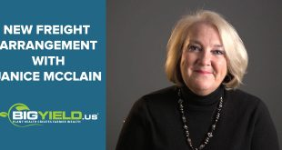 New Freight Arrangement with Janice McClain