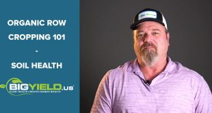Soil Health | Organic Row Cropping 101