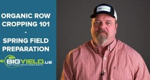Spring Field Preparation | Organic Row Cropping 101
