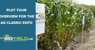 Plot Tour Overview for the Ag Classic Expo