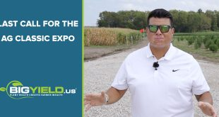 Last Call for the Ag Classic Expo